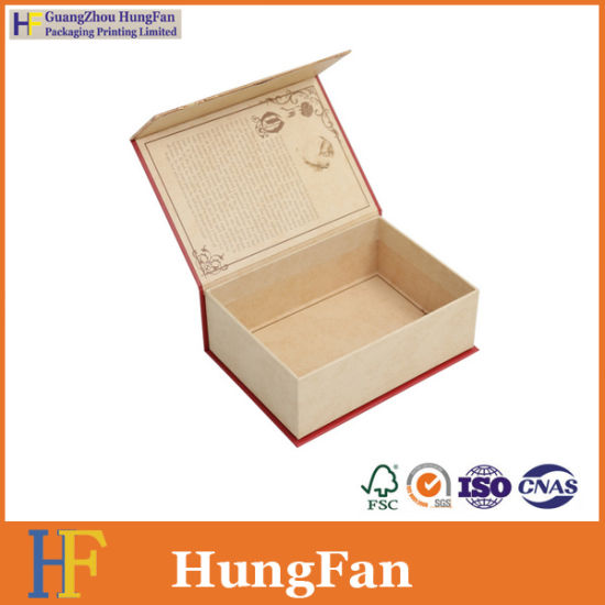 Classical Design Rigid Paper Gift Packaging Custom Box