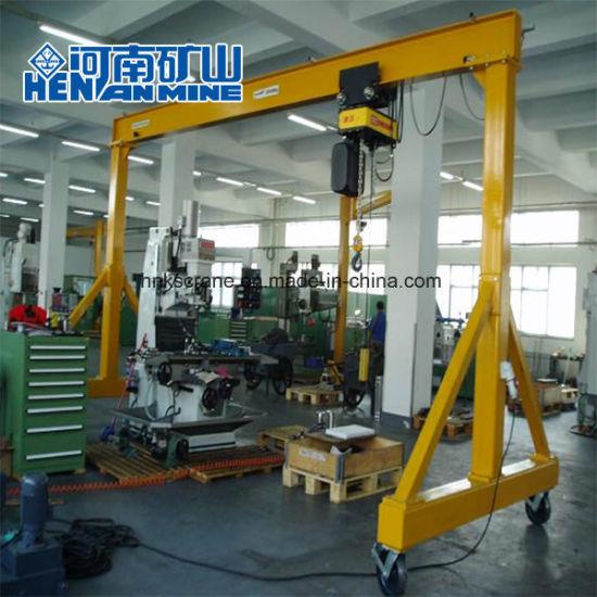 Henan Mine Mini Single Girder Gantry Crane 5~10ton