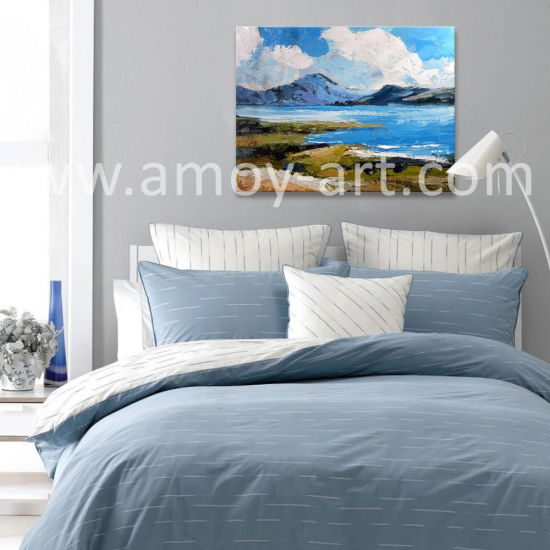 New Arrival Handmade Seascape Oil Painting by Palette Knife for Home Decoration pictures & photos
