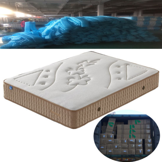 luxury five zone pocket spring mattress vacuum roll in box for online sales - Online Mattress Sales