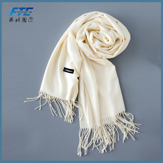 Luxury Cashmere Scarf Fashion Smooth Cashmere Scarves