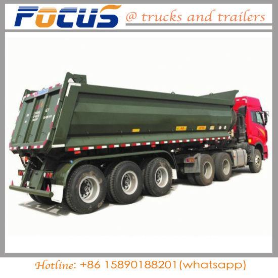China hot sale 50t dumper tipper semi trailer for for dinasbauxite hot sale 50t dumper tipper semi trailer for for dinasbauxite transportation publicscrutiny Gallery