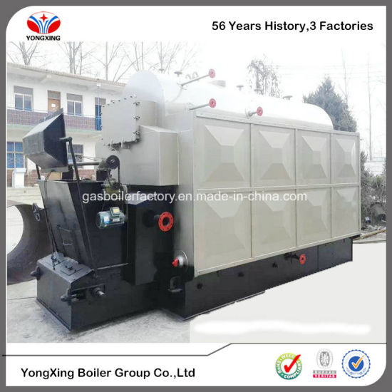 China Dzl Industrial Coal/Woodchips Steam Boiler with Smokeless Coal ...