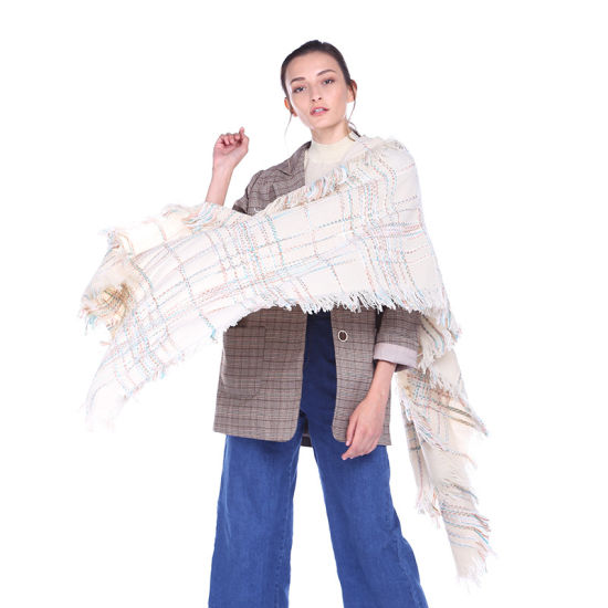New Design Ladies Knitted Scarf / Shawls Wholesale in Stock