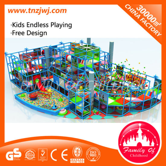 Children Indoor Playhouse Castle Plastic Playing Structure for Sale