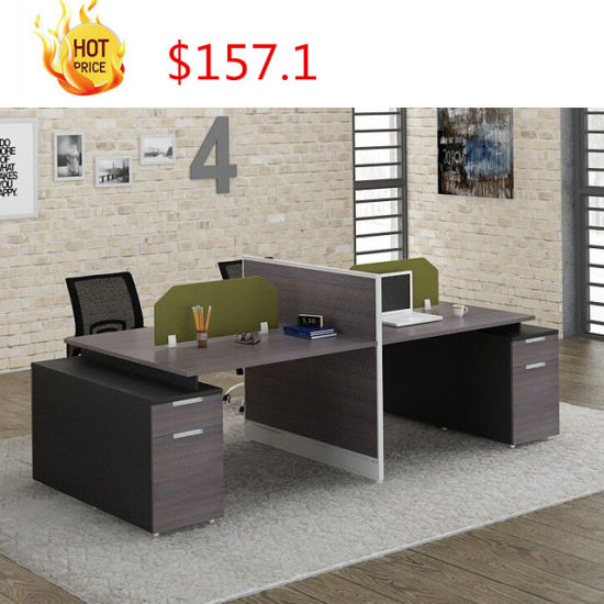 China Latest Design Modular Mdf Table Desk Top Wooden Used Modern