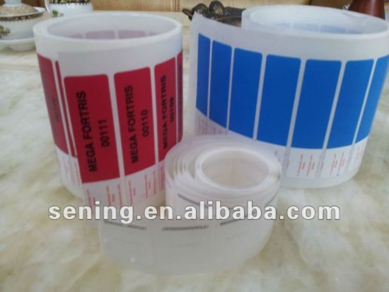 Custom Tamper Proof Void Label Supplier; Security Void Sticker; Adhesive Material Manufacturer