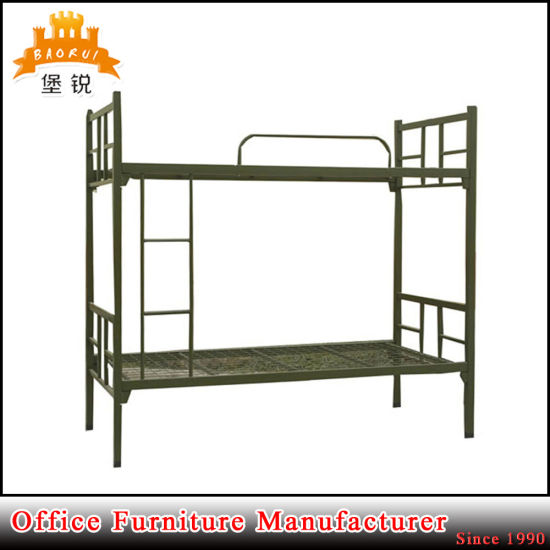 High Weight Capacity Military Use Metal Folding Bunk Beds