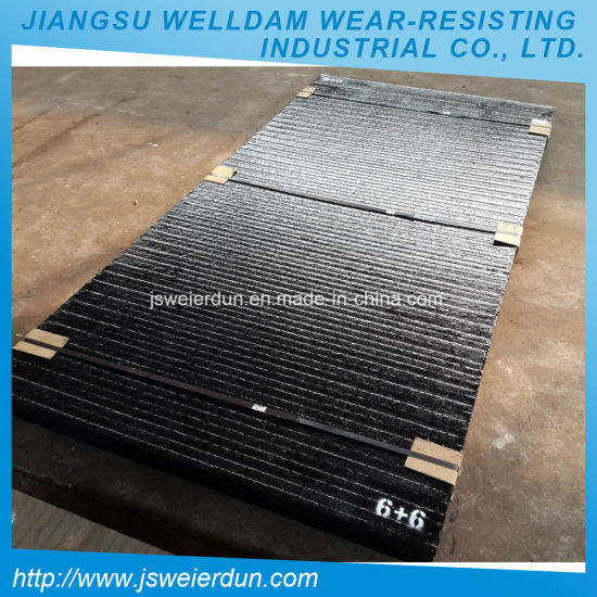 936152025e90 China Chromium Carbide Bimetallic Wear Resistant Steel Plate - China ...