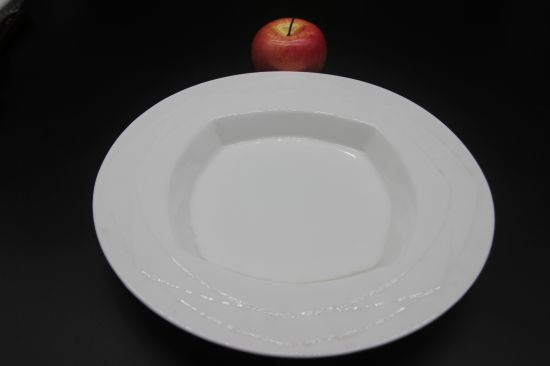 Ceramic Dishes for Hotel Restaurant 12  Marriott Angle Plate : chinese ceramic plates - pezcame.com