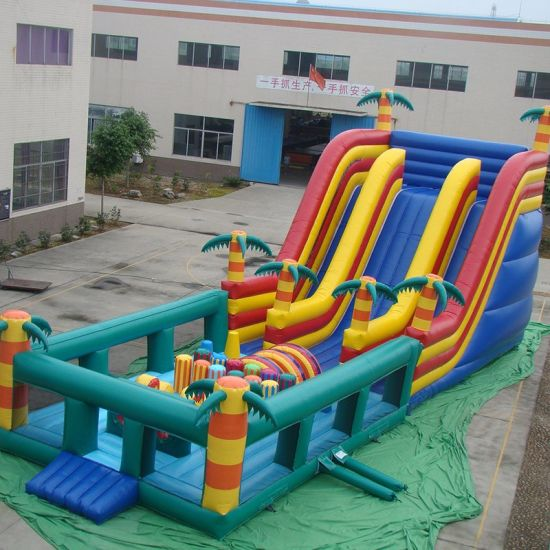 Customized Inflatable Bouncy Jumping Castles (FC-015)