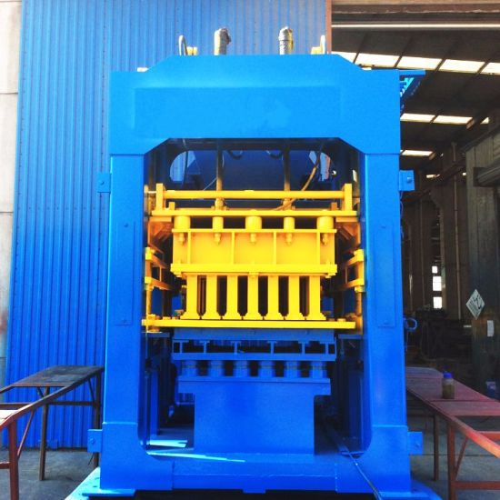 Qt8-15 Automatic Hydraulic Concrete Brick /Block Making Machine pictures & photos