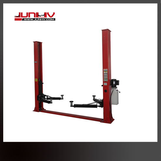 Hydraulic Thin Plate 2 Post Auto Car Lift