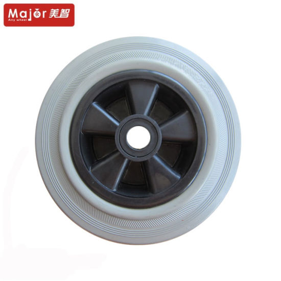 8 Inch PU Foam Special Chair Wheel Flat Free Tyre pictures & photos