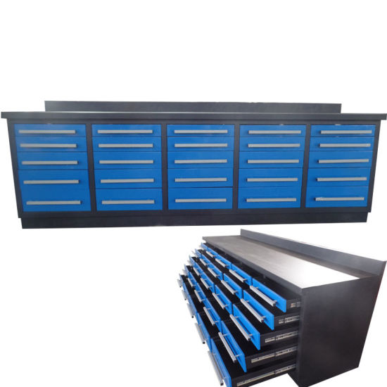 Heavy Duty 10FT Metal Steel Storage Tool Workbench Cabinet with 25 Drawer