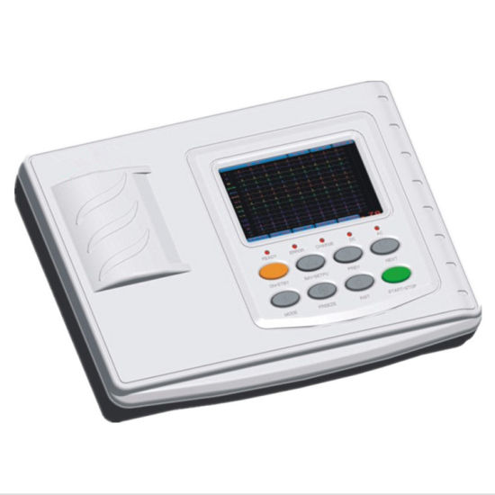 300g Electrocardiograph 12-Channel Portable Hospital ECG Machine pictures & photos
