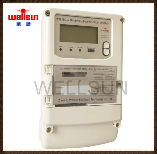 Three Phase Remote GPRS Electricity Meters