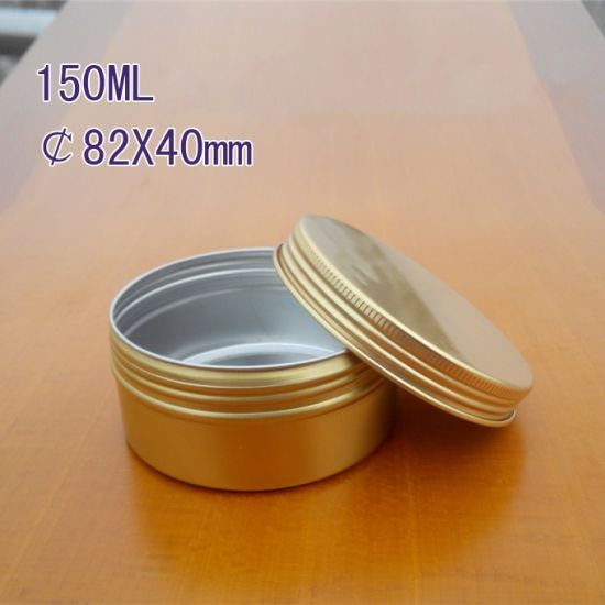 150ml Screw Cap Cream Aluminum Jar pictures & photos