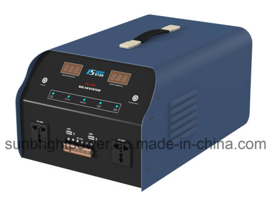 Long Life Solar Energy Home Solar System Es-1240 with Inverter