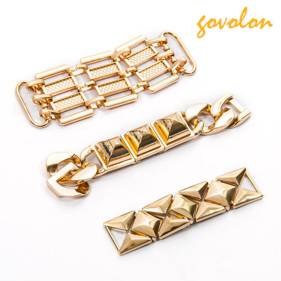 Hot Sale Alloy Metal Curb Chain for Garment