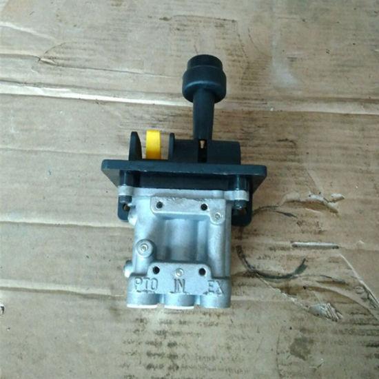 Hydraulic Hand Control Valve : China dump truck parts hyva hydraulic holes hoist