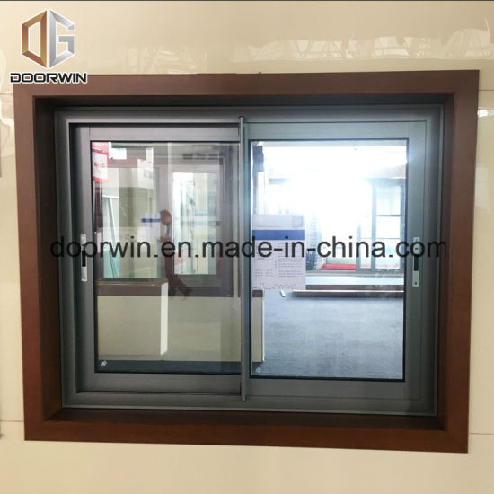 China Anodizing Silver Color Aluminium Sliding Gl Window for ... on