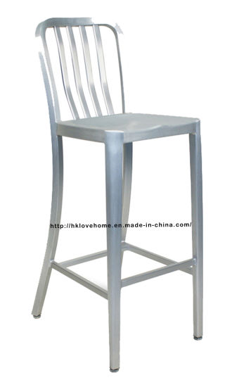 Marvelous Morden Emeco Dining Restaurant Aluminum Navy High Bar Stools Chairs Squirreltailoven Fun Painted Chair Ideas Images Squirreltailovenorg