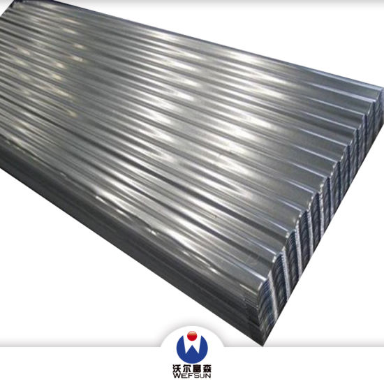 Corrugated Metal Roofing Siding Material Hot Dipped Cold Rolled Galvanized Steel Sheet