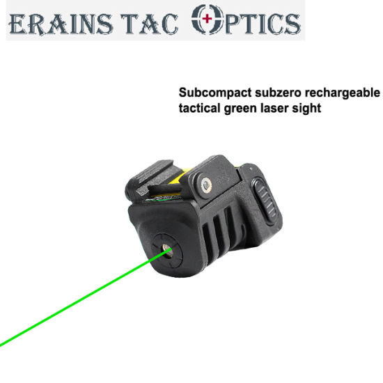 2018 New Subcompact Rechargeable Hunting 532nm Outdoor Pistol or Rifle Green Laser Sight