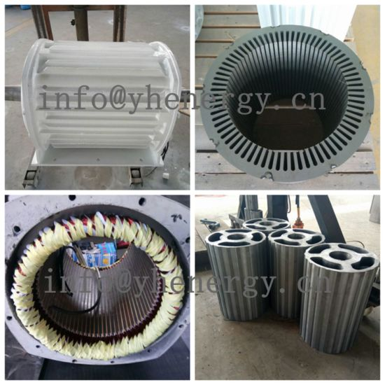 Permanent Magnet Generator Low Torque and Low Rpm 3 Phase AC Alternator pictures & photos