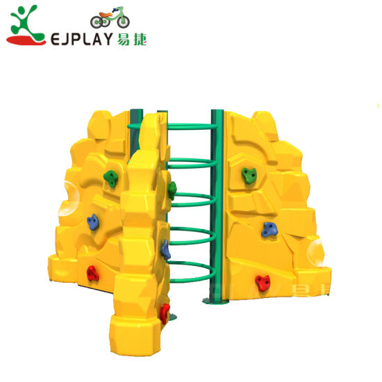 China Manufacturing Commercial Plastic Kids Rock Climbing Wall
