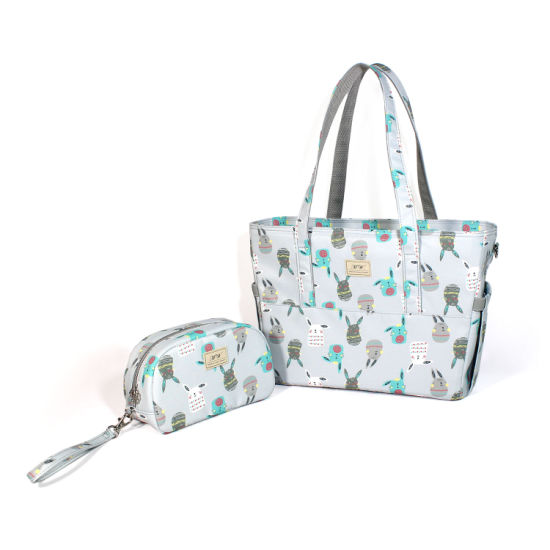 Ladies Large Capacity Durable Portable Nylon Shopping Camping Travelling Gym Zip Crossbody Shoulder Bag
