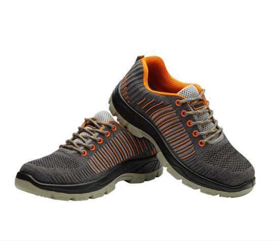 China Steel Toe Flykint Leather Sandal
