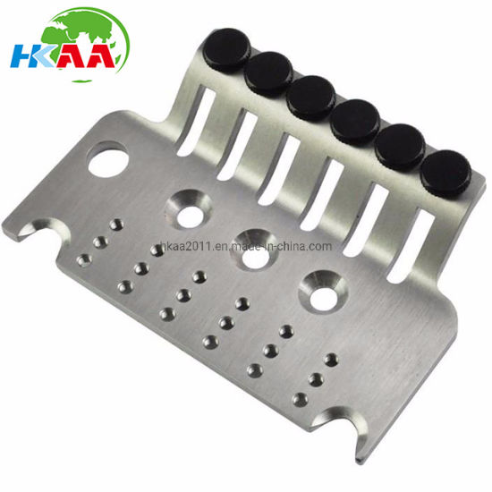 CNC Machined High Precision Titanium Tremolo Base Plate for Guitar pictures & photos