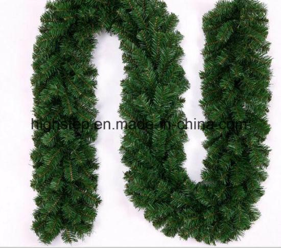 Christmas Green Color.China Christmas Garland 9ft Length Color Green China