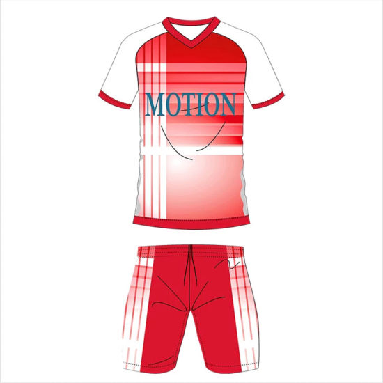 China Wholesale Blank Fitness Activewear Sport Suit Men USA Soccer Jersey