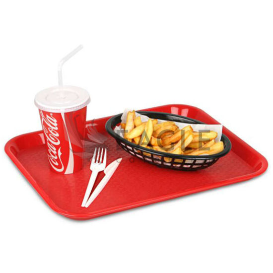 Plastic Catering Restaurant Fast Food Serving Tray