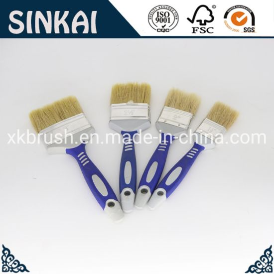 China Home Decorating Tool Rubber Handle Painting Brush China Cleaning Brush Clean Painting Brush