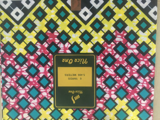 Factory New Designs 100% Cotton  African Wax Prints Fabric