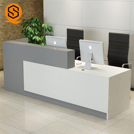 Marble Salon Office Reception Desk