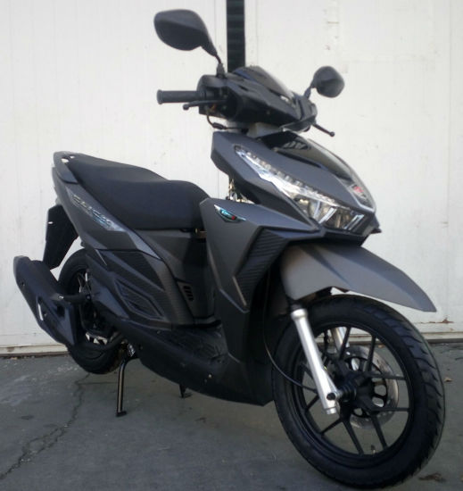 14 Inch Wheel Moped Motorcycle Gas Scooter for Africa Market