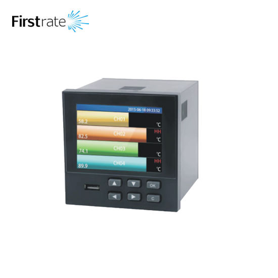 FST500-601 Multi Single Use 18 Channel Color Paperless Pressure Chart Recorder pictures & photos