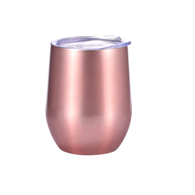 Sublimation 12oz Stainless Steel Double Wall Vacuum Egg Wine Cup