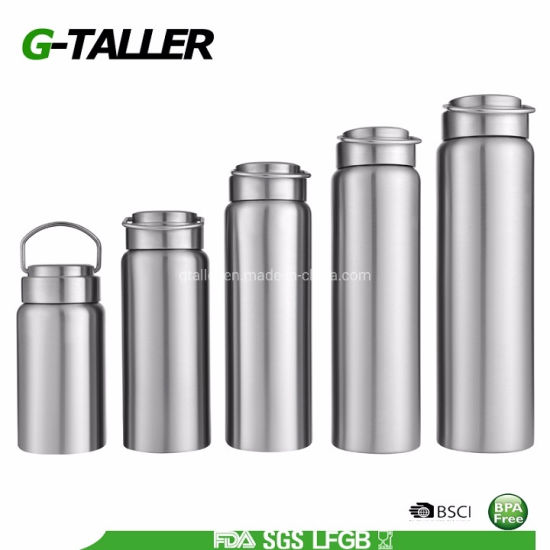 Vacuum Insulated Sports Water Bottle for Travel