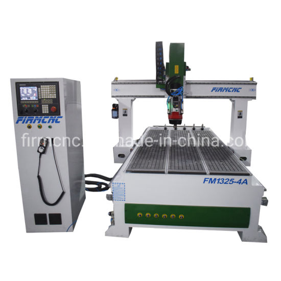 China 1325 CNC Woodworking Machine Atc Engraving Cutting 4 Axis CNC Router