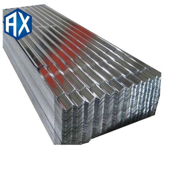 Calamina Galvanizada Roja Ondulada Size 0.14*800mm/0.2*800mm/0.23*800mm Roofing Steel Sheet