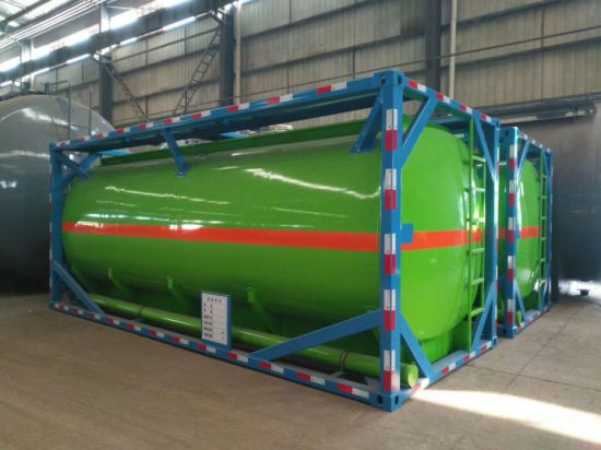 Fuel Transport Tanker Container ISO Storage Tank