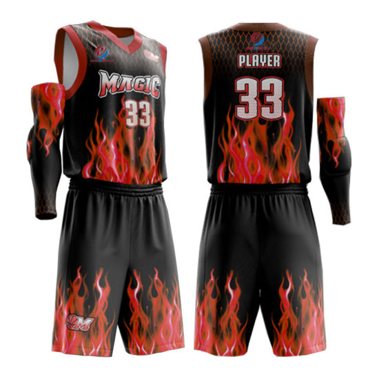 China 2019 New Design Clothes Custom Sportswear Sublimation Dry Fit