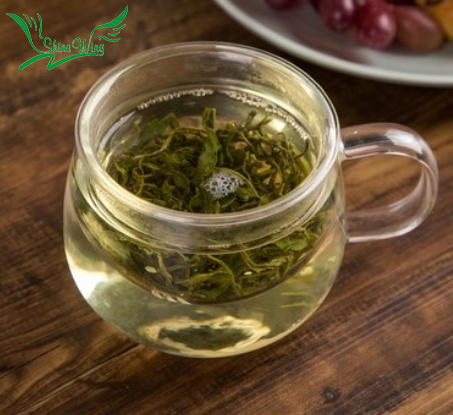 Organic Mao Feng Green Tea Loose Leaf pictures & photos