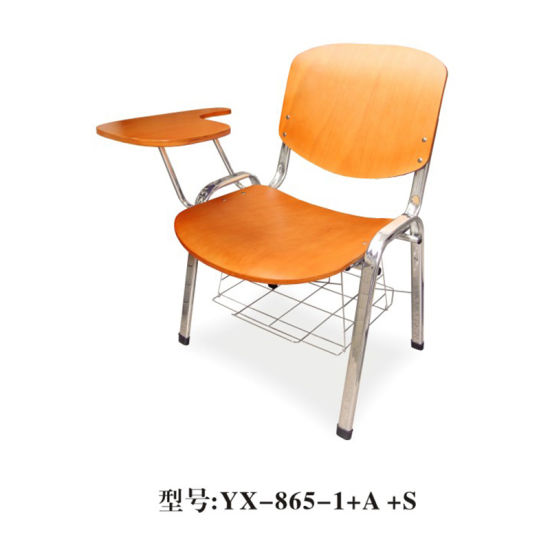 Enjoyable Modern Plastic Powder School Desk And Study Chair With Writing Pad School Classroom Furniture Student Chair With Tablet Arm Alphanode Cool Chair Designs And Ideas Alphanodeonline
